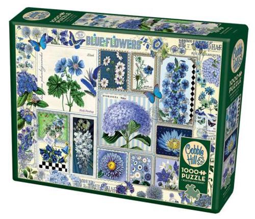 Blue Flowers 1000pc box