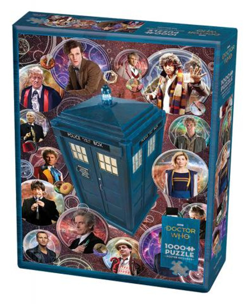 Doctor Who: The Doctors 1000pc box