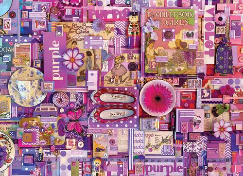 Purple ROYGBIV 1000pc image