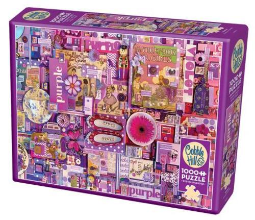 Purple ROYGBIV 1000pc box