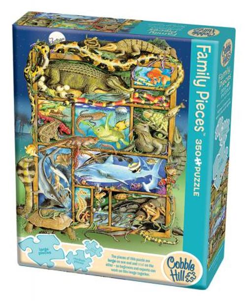 Reptiles and Amphibians 350pc Family box