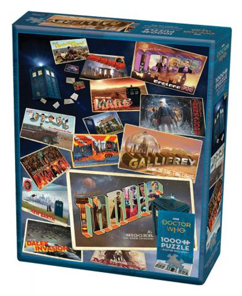 Doctor Who: Postcards 1000pc box