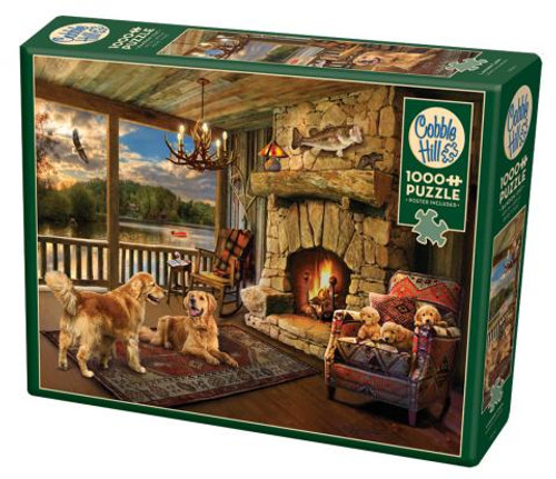 Lakeside Cabin 1000pc box