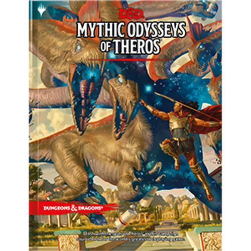 D&D Mythic Odysseys of Theros Book cover