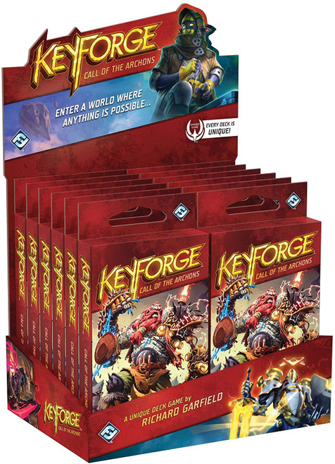 KeyForge Deck: Call of the Archons (Display)