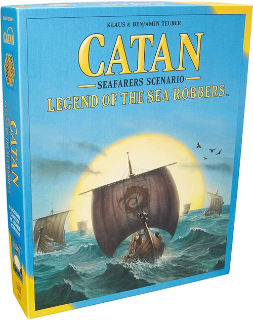 Catan: Legend of the Sea Robbers Expansion (Sold Out)
