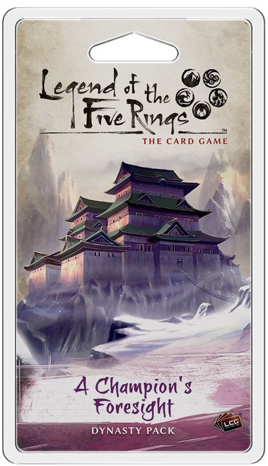 L5R A Champion's Foresight Dynasty Pack
