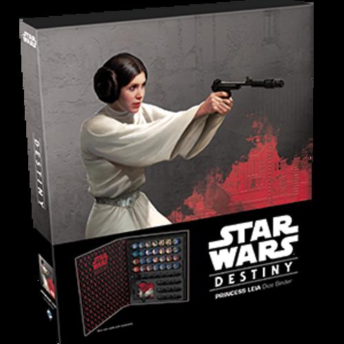 SW Princess Leia Dice Binder Destiny