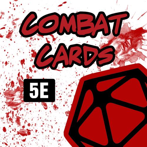 DnD 5e Combat Cards box art
