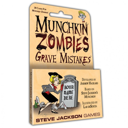 Munchkin: Zombies: Grave Mistakes