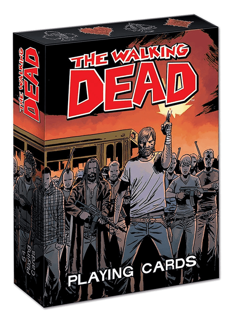 Playing Cards Walking Dead