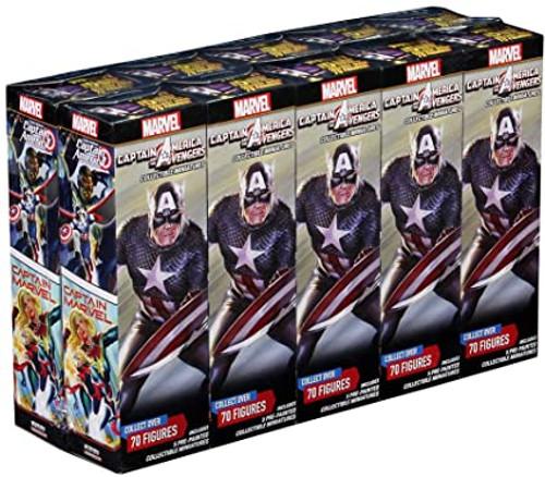 Heroclix: Captain America Avengers 5-fig booster brick