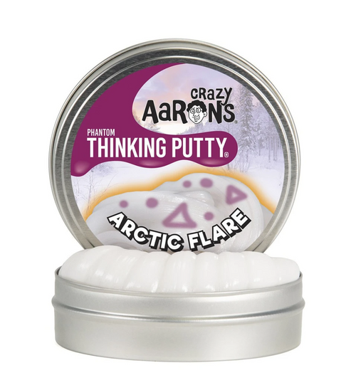 Arctic Flare Thinking Putty packaging