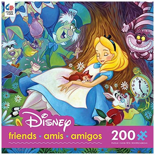 Mad Hatter & Alice 200pc