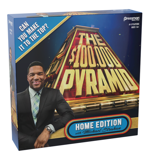 Image of $100,000 Pyramid Quiz Game packaging
