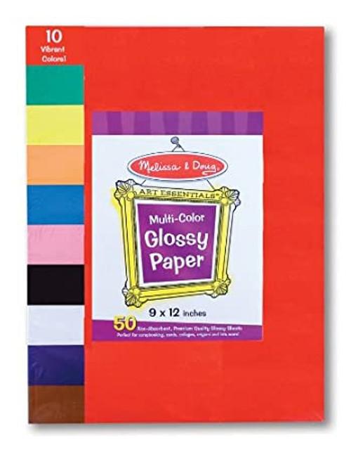 Multi-Color Glossy Paper (9x12)