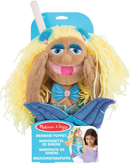 Mermaid hand puppet (box)