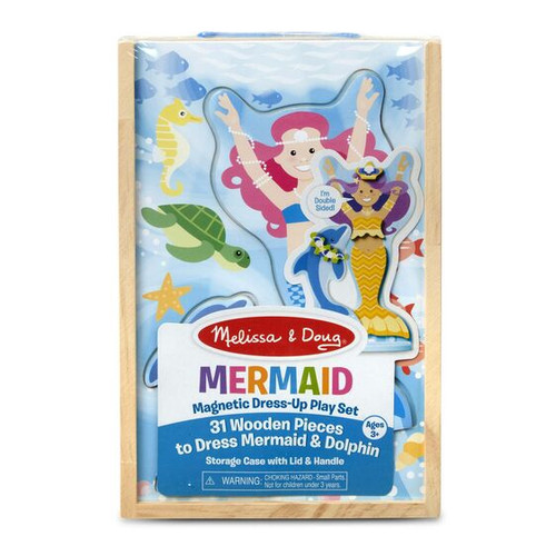 Mermaid magnetic dress-up