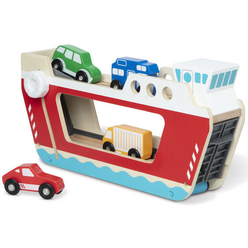 Ferryboat wooden vehicle