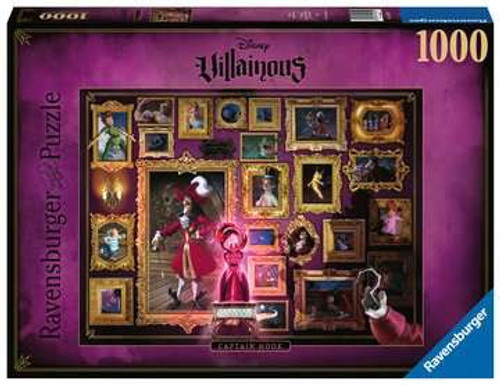 Villainous: Captain Hook 1000pc