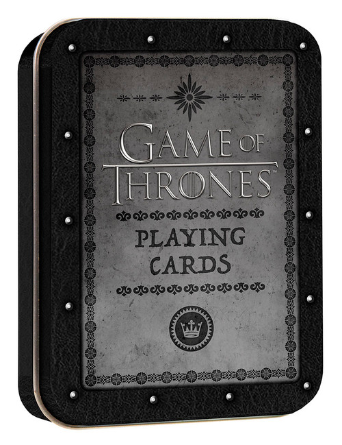 Playing Card Tin Game of Thrones
