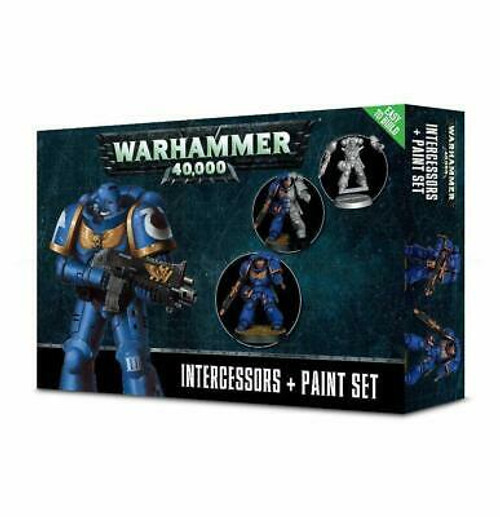 40k Intercessors + Paint Set
