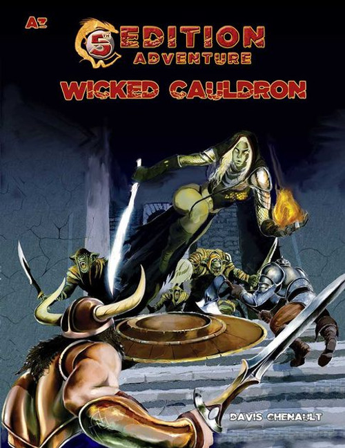 5E: A03: Wicked Cauldron