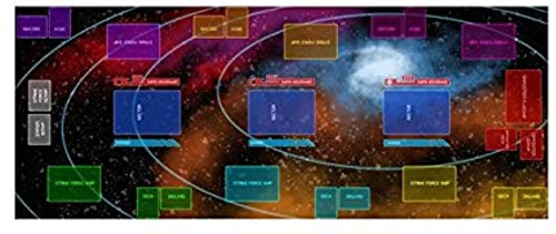 - Galactic Strike Force Playmat