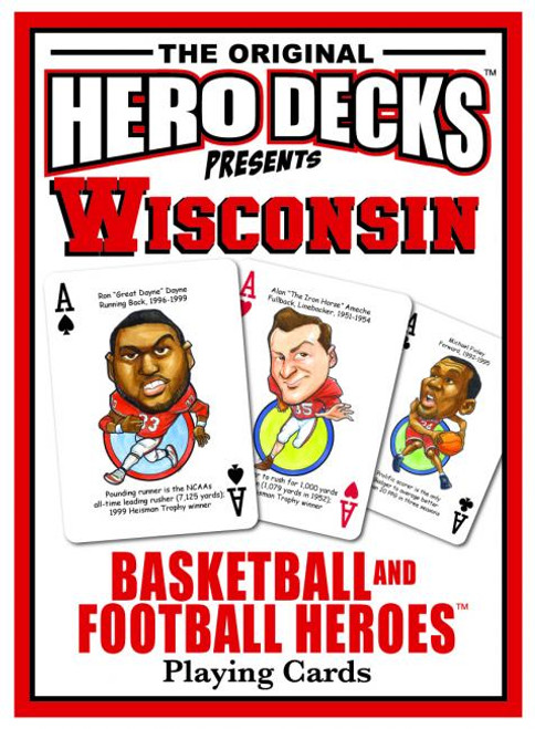 Wisconsin Hero Deck playing cards