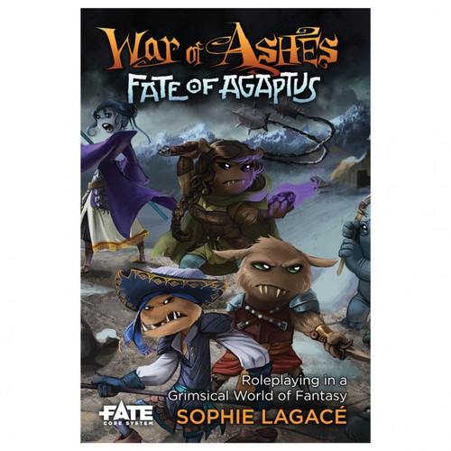 Fate Core War of Ashes Fate of Agaptus