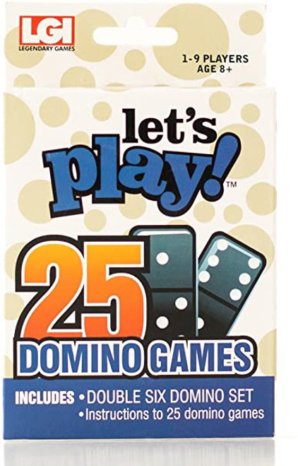 Dominoes - Let's Play 25 Games