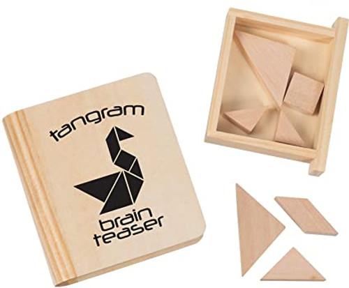 T Tangram Brain Teaser