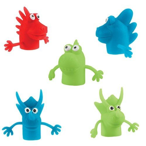 Squishy Finger Puppet Monsters