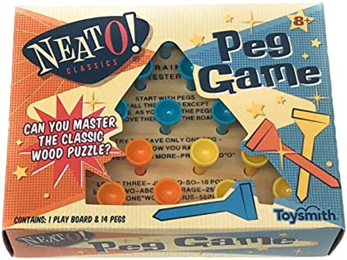 Peg Game (Think and Jump) (