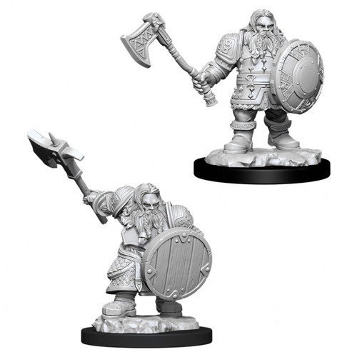 D&D NMU Male Dwarf Fighter W11