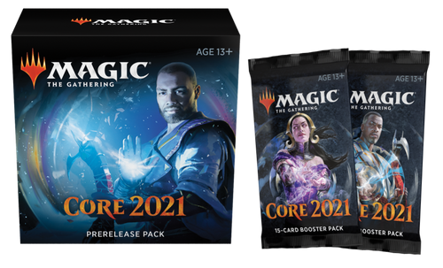 Prerelease Special, Core Set 2021—Magic the Gathering (Kit + Two Packs) (In-Store Pickup Only)