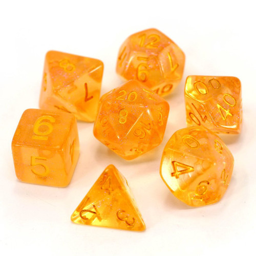 Fire Sprite Dice Set (Sold Out)