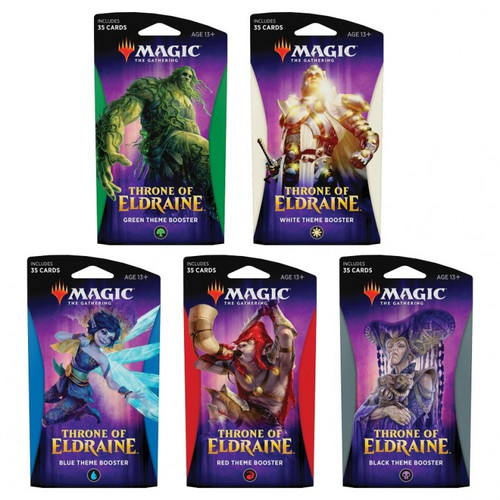 Magic the Gathering: Theme Booster Throne of Eldraine