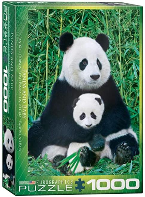 Panda Bear & Baby 1000pc