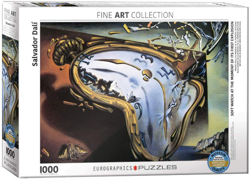 Melting Clock 1000pc Dali