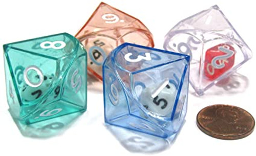 Double Dice d10 in a d10 Dice Singles