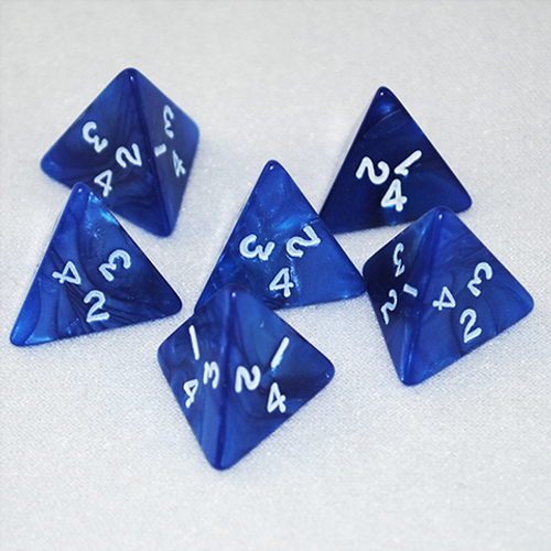 Pearlized Four-Sided d4