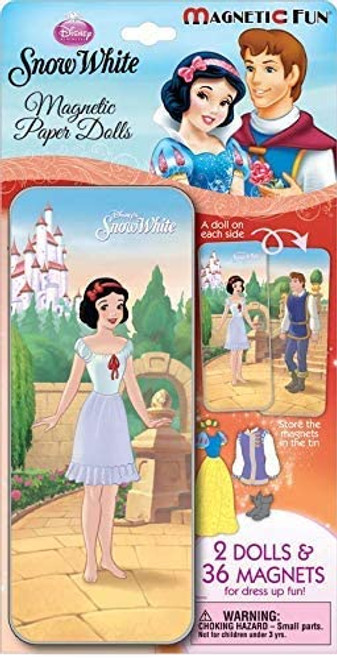 Snow White Magnetic Paper Doll