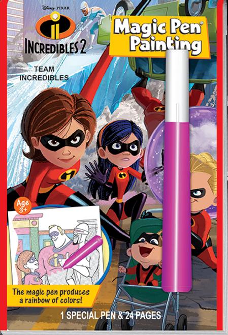 Incredibles 2 Activity Book Magic Pen