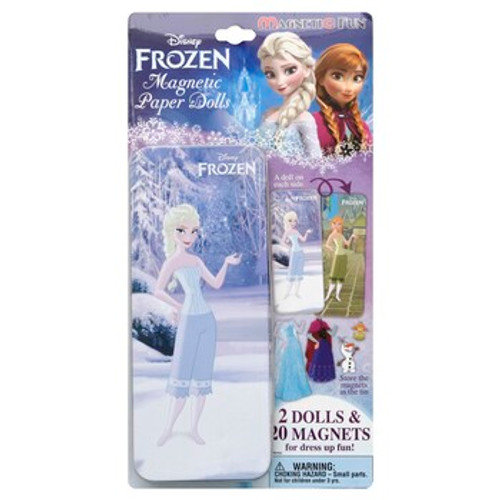 Frozen Magnetic Paper Doll