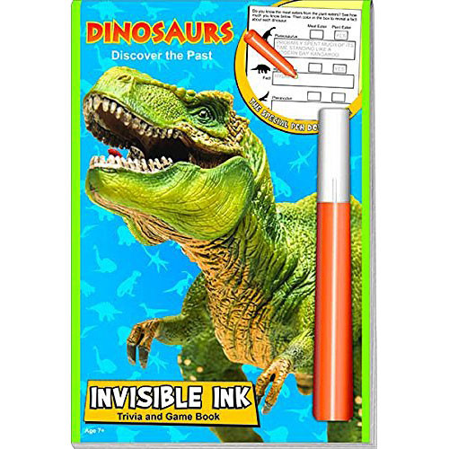 Dinosaurs Invisible Ink Magic Pen