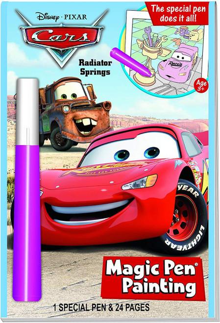 Cars Magic Pen Activity Book