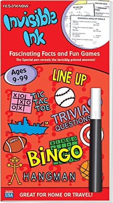 Yes & Know Red Ages 9-99 Magic Pen