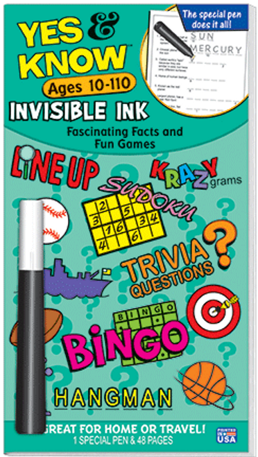 Yes & Know Teal Ages 10-110 Magic Pen
