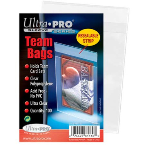 Resealable Team Bags